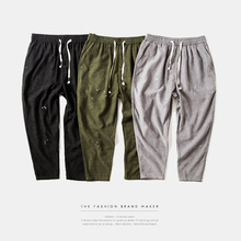 Brand males 's clothes | 2016 toes new winter Japanese splash ink harlan  pants males' s informal pants males