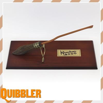 Harry Potter and the Prisoner of Azkaban Peripherals Nimbus 2000 Broom Cosply Figure toy model S156 prisoner of zenda and rupert of hentzau
