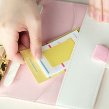 36 pcs/Lot Pure and fresh stick memo pad  Post lovable schedule book page marker Stationery Office School supplies CM117 stylish memo pad scheduler about 160 page