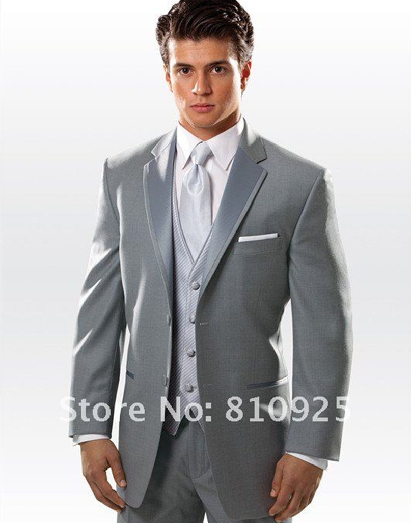 3 Piece Wedding Suits For Men - Ocodea.com