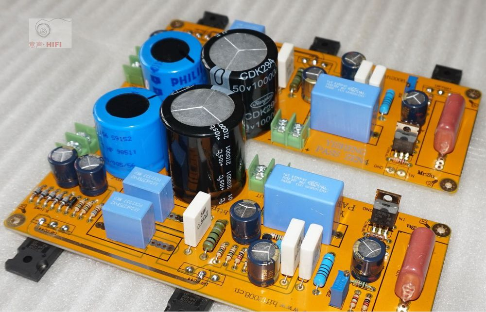 2015 NEW HIFI-STORE 2-CH Assembled PASS ZEN 4 Single-ended 25W Class A amplifier board L1511-38
