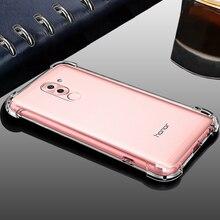 Xinwen роскошный задний etui, coque, чехол, чехол для huawei honor 6x gr5 2017 mate 9 lite x Силиконовый оригинальный телефон Аксессуары