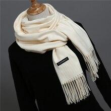 2018 brand women scarf fashion soild autumn winter cashmere scarves lady warmer pashmina long shawl wraps bandana foulard female