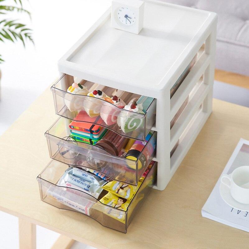 Multi-couche tiroir boîtes de rangement moderne multi-fonction maison chambre cosmétiques bureau bureau papeterie divers tiroir de stockage
