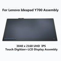 UHD IPS LQ156D1JX03 E LCD Display with Touch Screen Digitizer Assembly for Lenovo IdeaPad Y700 15ISK
