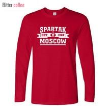 Горький кофе нвэ высокое качество, футболка с Москвой, Российская премьера лига, Camiseta, футболка с длинным рукавом, XS-XXL