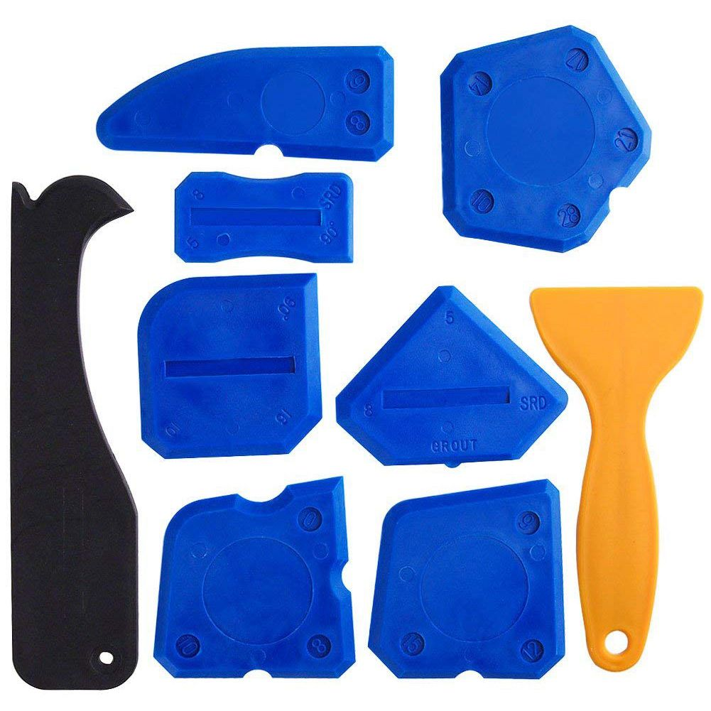 Fesselnd 9 Stücke Dichtstoff Werkzeuge Abdichten Kit Silikon Entferner Abdichtung  Werkzeug Für Bad Küche Zimmer Und Rahmen Dicht Dichtungen