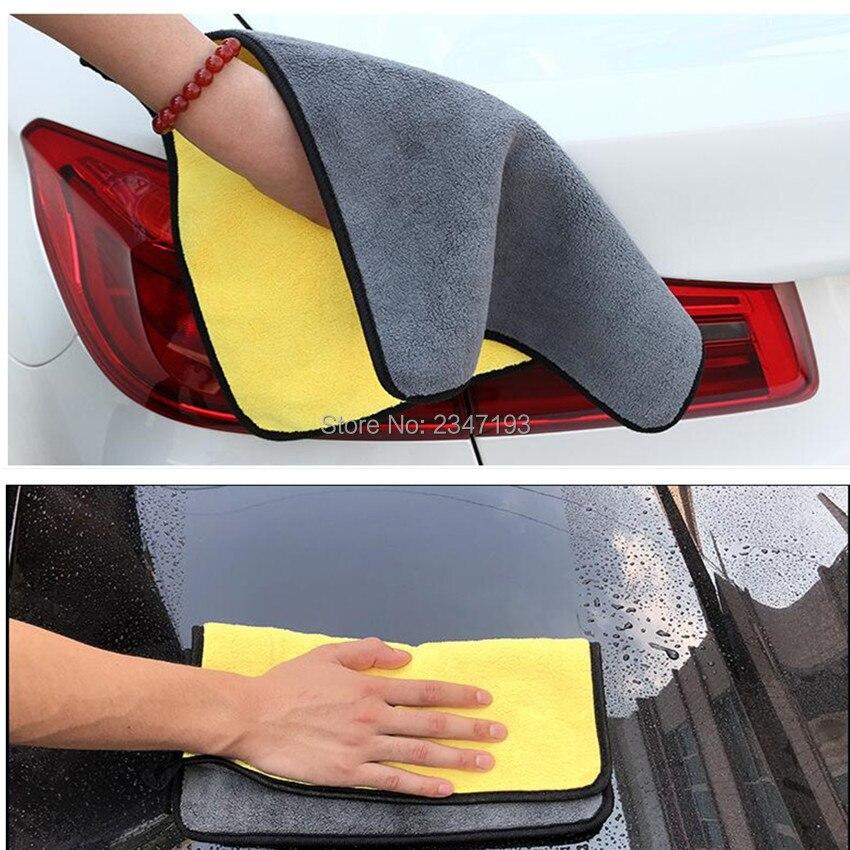 Exterior Accessories Car-styling Super Absorbent Microfiber Towel Car Cleanin Cloth For Seat Skoda Rapid Fabia Octavia Yeti Superb Audi A3 A4 B8 B6