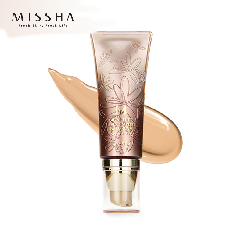 MISSHA M Signature Real Complete BB Cream SPF25 PA++ 45g (No.27)Foundation Moisturizing Makeup Perfect Cover Korean Cosmetics missha bb 50ml