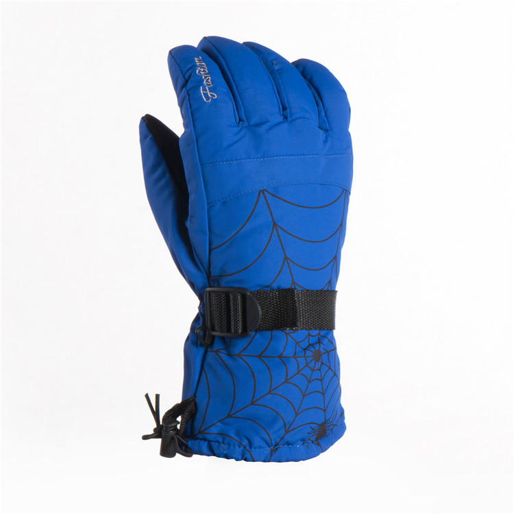 Professional Men Ski Gloves Waterproof Warm Winter Snowboard Snowmobile Motorcycle Riding Gloves Thermal Windproof Snow ST28