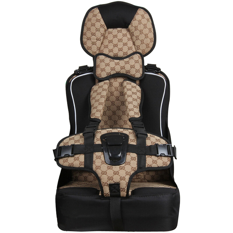 New Heighten Car Child Safety Seat Baby Child Portable Car Infant Seat Suitable for 6 Months -8 Years Old Kids Free Shipping hot sale colorful girl seat covers for cars auto car safety child safety belt portable infant kiddy car seat for traveling