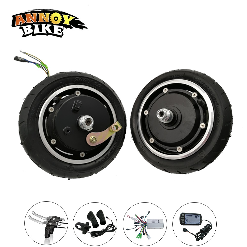 N  Electric Folding Scooter Kit 24v 36v 48v 8 Hub Motor Wheel Kit DIY For Adult E Bike E scooter Kids Standing Scooter economic multifunction 60v 500w three wheel electric scooter handicapped e scooter with powerful motor