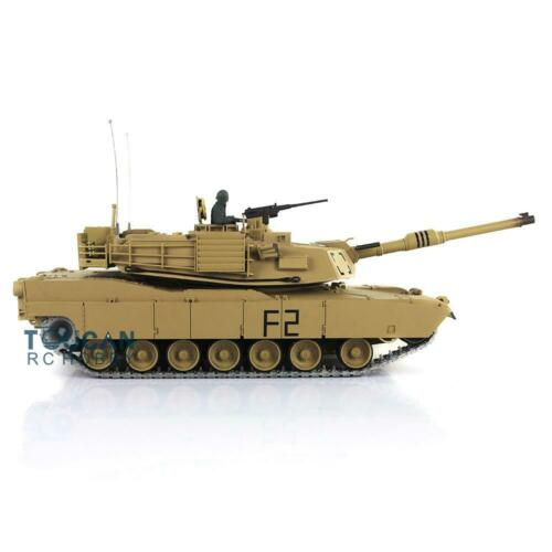 Henglong 1/16 6.0 Upgraded Metal M1A2 Abrams RTR RC Tank 3918 W/ 360 Turret TH12939