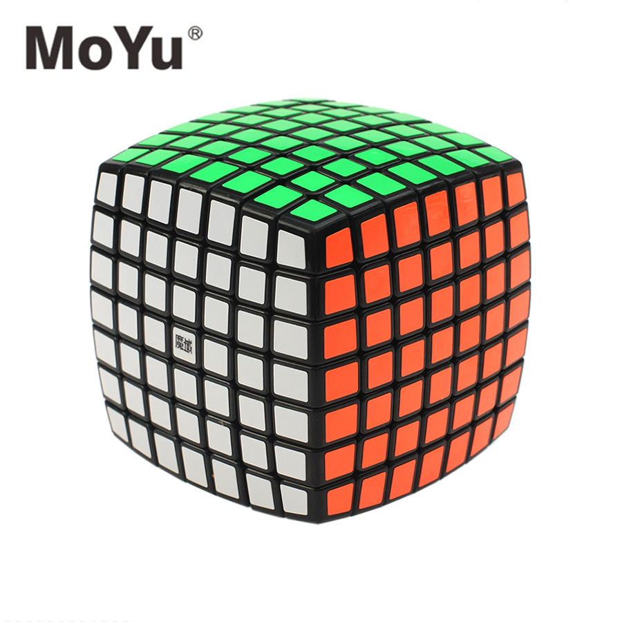 MOYU AOFU Magic Cube Bread 7*7*7 Puzzle Cube Classic Learning Educational Toys Kid Gifts 76mm цена