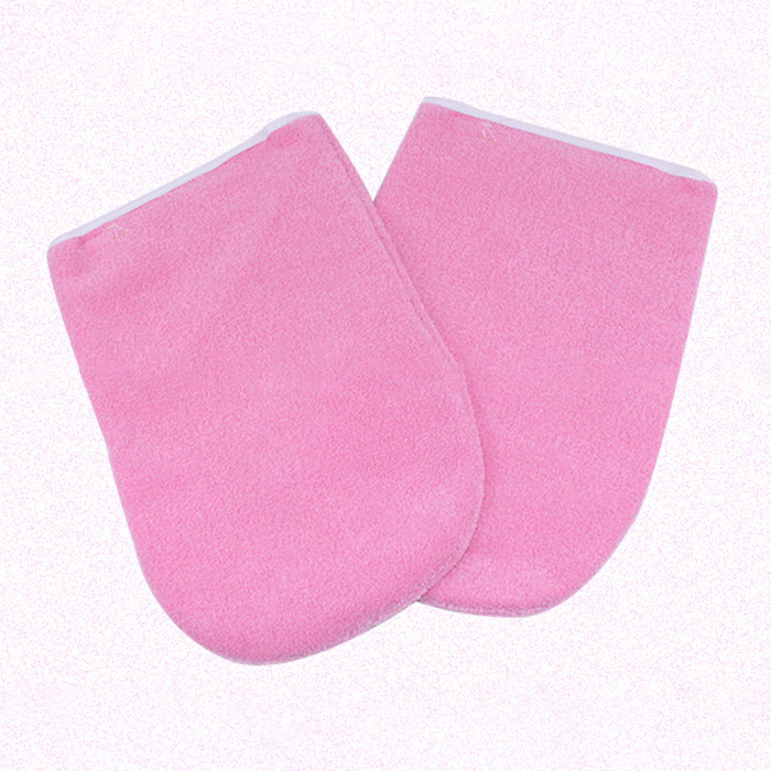 New Style Wax Protection Gloves for Warmer Wax Heater Professional Mini SPA Hands Gloves Pink Brace&Support High Quality