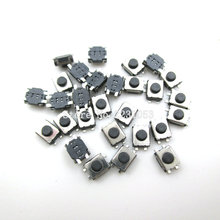 100 PÇS/LOTE 3*4*2mm SMD 4 Pinos de Toque Micro Switch Tact Switch Push Button Switches 3x4x2H Mini Botões