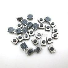 Interruptor táctil SMD de 4 pines, 3x4x2mm, Mini botones, 100 unidades/lote
