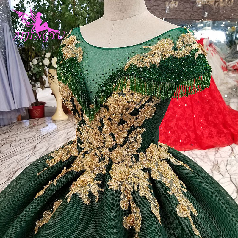 Image 5 - AIJINGYU Lace Wedding Dresses Moroccan Gowns Korean Royal Queen With Sleeves New Gown Indian Wedding DressWedding Dresses   -