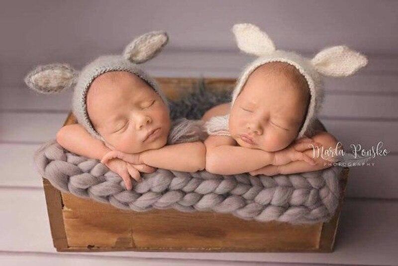 Baby Pointted Ears Bear Hats Newborn Mohair Photography Costume Khawaii Baby  Caps Crochet Beanies Infant Photography Accessories beanies infant hat  newbornnewborn mohair - AliExpress