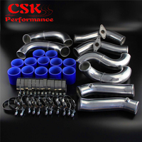 Racing Turbo Intercooler Piping Kit Fits For Nissan GT R R35 VR38DET VR38 09 15 Black / Blue / Red|  -