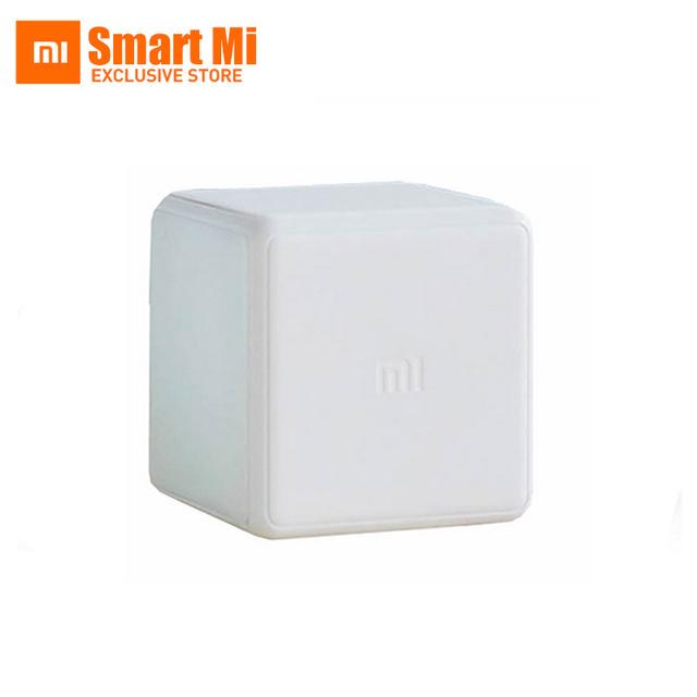 2016 nova xiaomi mi cubo controlador zigbee versão controlada por seis ações com Aplicativo de Telefone para Casa Inteligente Dispositivo TV Tomada Inteligente