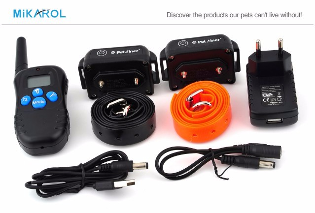 19th Rechargeable Dog Shock Collar PET998DBB