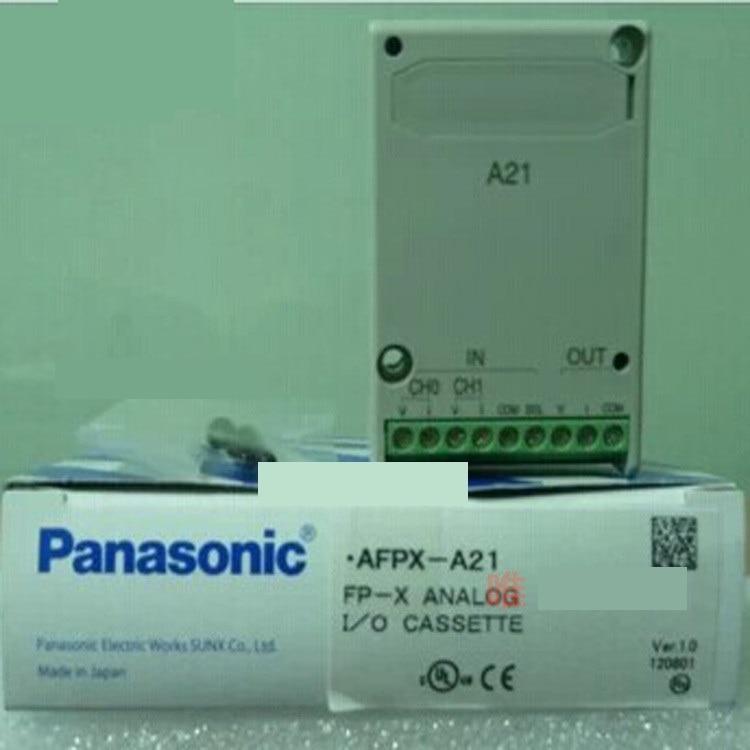 New original authentic AFPX-A21 PLC analog module analog thermocouple cassettes communication module afpx ad2 new