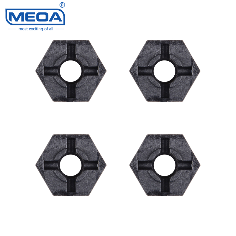 Wltoys RC Car Spare Parts 1/12 RC Car Accessories 12401-0214 Hexagon adapter for Tire Used Six angle wheel seat for 12401 02 03