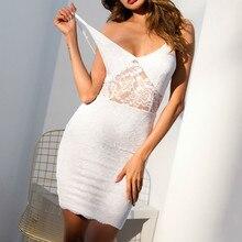 MUXU white sexy transparent dress backles fashion vestidos jurken vestido blanco suspender backless bodycon short