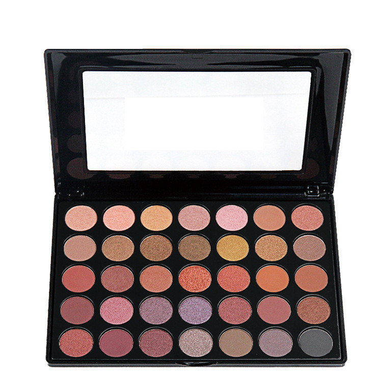 2016 New 35 Colors Eyeshadow Palette Nature Glow Shimmer Matte Eye shadow Full Professional Makeup Kit Beauty Make up Set 35 color plum eyeshadow palette professional matte shimmer eye shadow cosmetics make up for eyes
