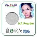 Envío libre Medio Peso Molecular del ácido hialurónico/HA en polvo de calidad alimentaria