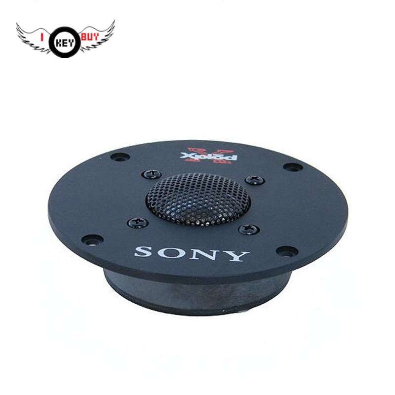 4 Inch 60W 5 Ohm Titanium Film Tweeter Hifi Accessories Fever Treble Head Tweeter Unit To Send Capacitor 1 Piece