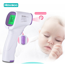Medoboo Multifunction Baby Thermometer Portable Digital Medical Forehead Ear Temperature Device Room Bass Measure 30