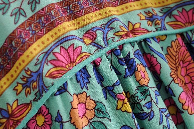Floral Blouse Top Shirt 34