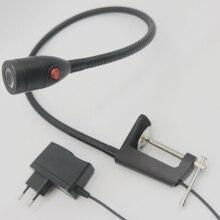 3W 110V/220V With Plug Gooseneck Machine Vision Led Lighting