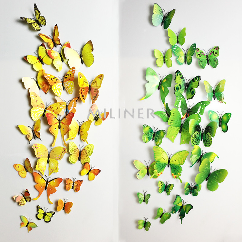 3d butterfly wall decor stickers u2013 surround yourself with the beauty of butterflies