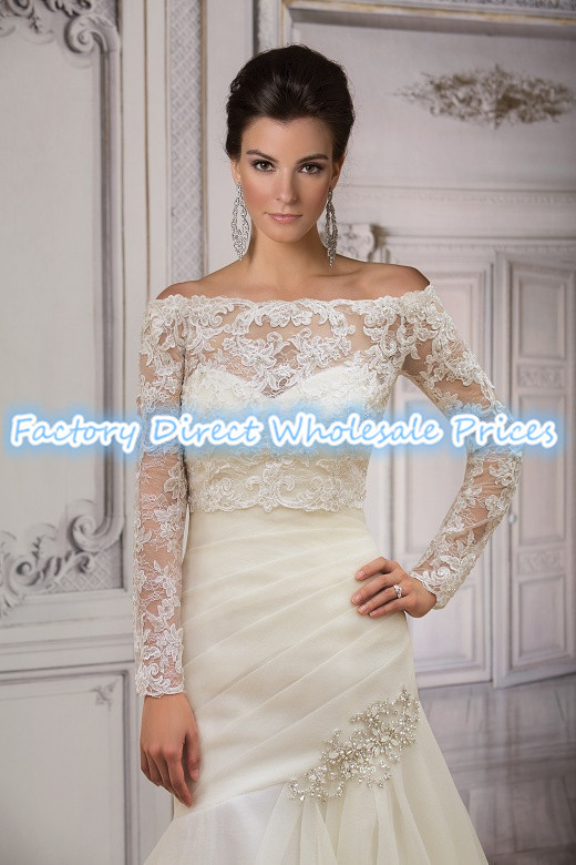 Ivory Jacket For Wedding Dress - Ocodea.com