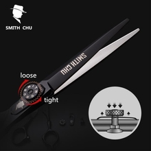 Smith Chu 6 inches Barber Shop Cutting Scissor Thinning Scissors Set Professional Scissors Hairdressing Scissors