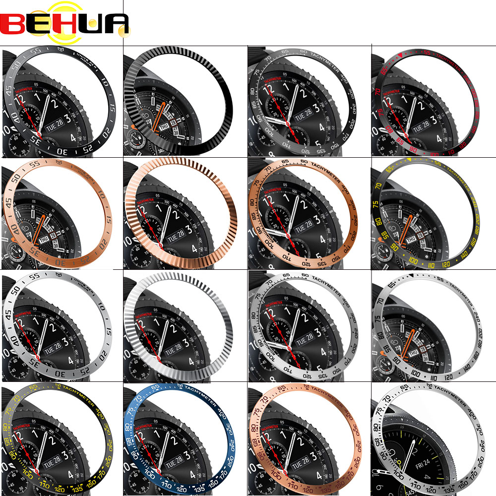 Ringke Bezel Styling Frame For Samsung Galaxy Watch 46mm 42mm Gear S3 Frontier Case Cover protector Ring Anti Scratch Protection(China)