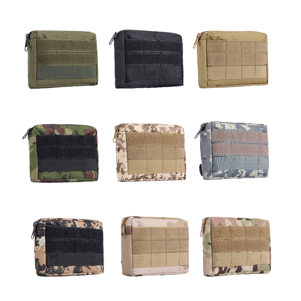 4*6 inch Tactical EDC Tool Bag Utility Pouch Cell Phone EDC Pouch Tactical Pocket Organizer Outdoor Waist Bag