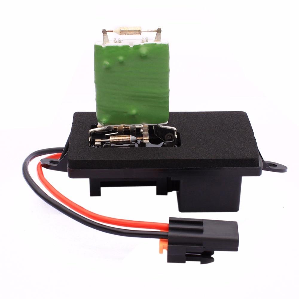 Hvac Heater Fan Blower Motor Resistor Fuse Relay