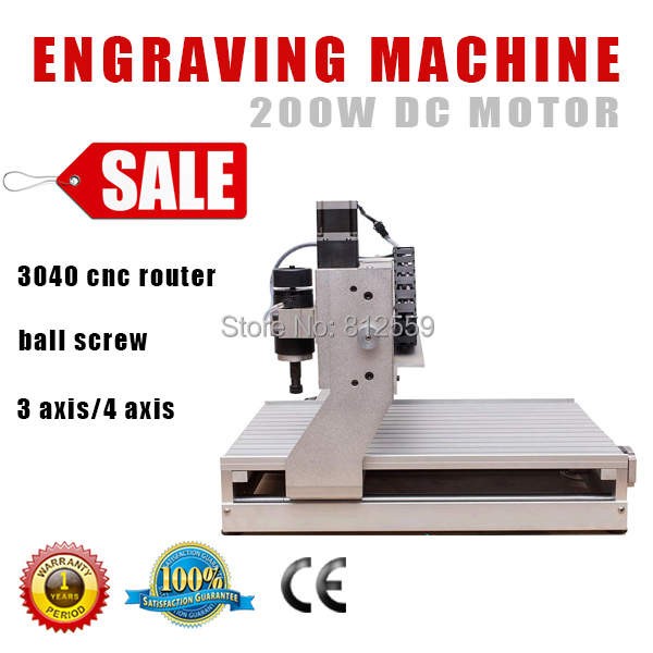 3 axis cnc cutting machine hot sale mini cnc router 3040 cnc 5axis a aixs rotary axis t chuck type for cnc router cnc milling machine best quality