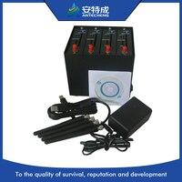 Wavecom Q2406 multi sim card modem 4 port gsm modem bulk SMS modem, AT command 4 port modem pool