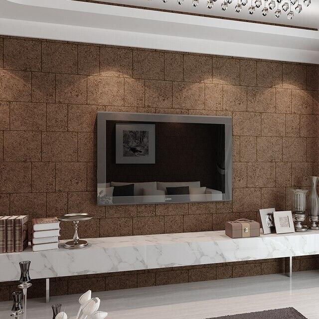 Europ ische TV wandtapete 3d vlies schlafzimmer tapete einfachen moderne wohnzimmer kino marmor quadratischen raster tapete.jpg 640x640 - Tv Wand Tapete