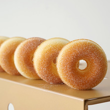Simulated donut Kitchen soft Fake bread Food photography props Children's photography model toy