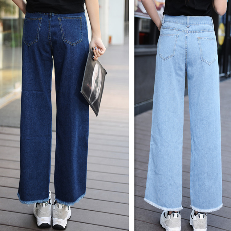 popular denim palazzo pants buy cheap denim palazzo pants lots from china denim palazzo pants. Black Bedroom Furniture Sets. Home Design Ideas