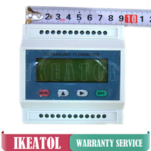 TDS-100M Portable Ultrasonic Flow Meter Digital Modular Flowmeter DN15-700mm with S2 M2 transducer
