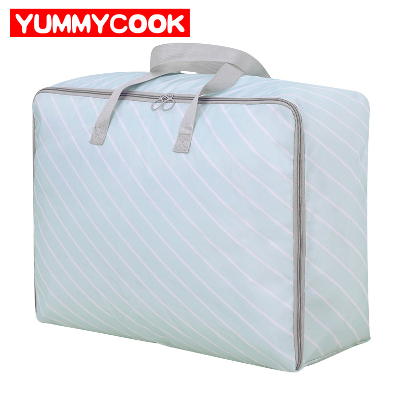 Portable Folding Home Storage Clothes Bags Quilt Blanket Bedding Comforter Wardrobe Organization Accessories Supplies Stuff