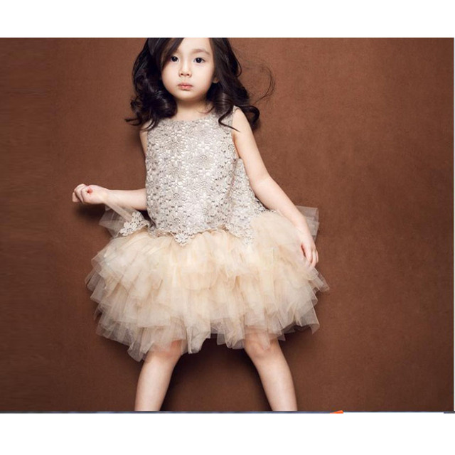 kids wedding dresses sleevess robe mariage fille fashion children dress for girls summer style girl lace - Aliexpress Mariage