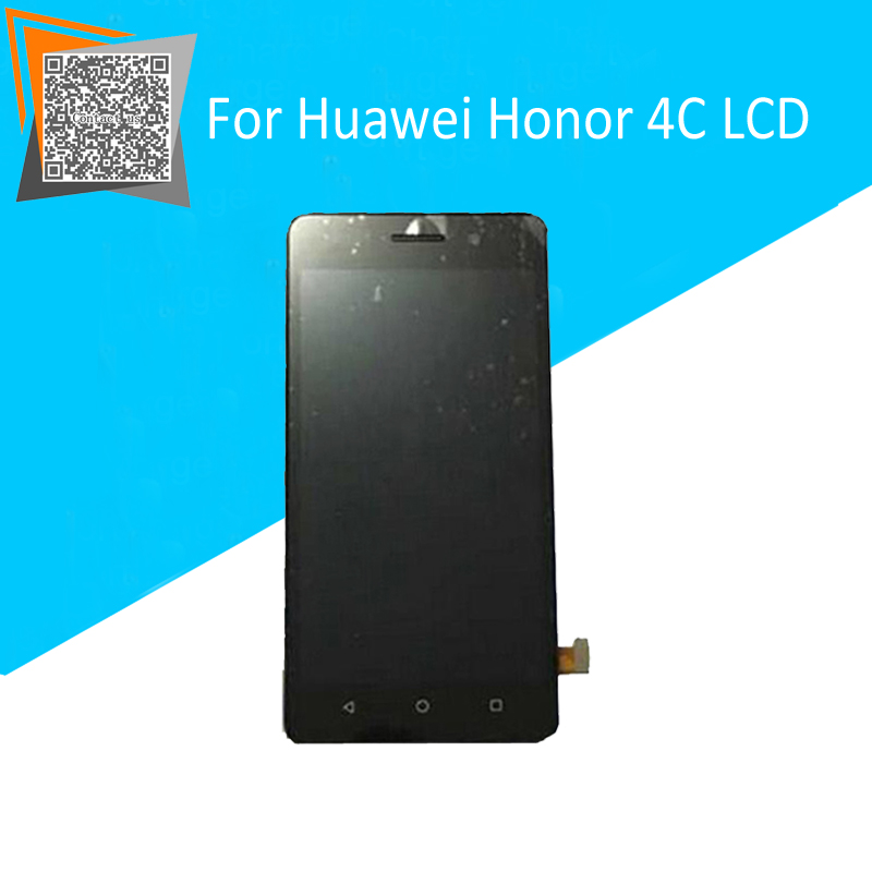 NEW Parts For Huawei Honor 4C LCD Display+Touch Screen Digitizer Glass Sensor With Frame Full Assembly Repartment
